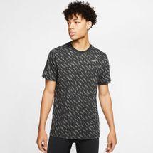 Nike Men's Dri-FIT Defect Burnout Windrunner T-Shirt