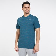 Nike Men's Dri-FIT Defect Burnout Windrunner T-Shirt