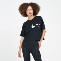 Nike Women's Icon Clash Graphics Training T-Shirt