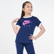 Nike Kids' Sportswear Air Logo Ringer T-shirt (Older Kids)