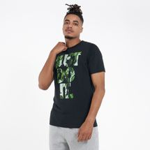 Nike Men's Sportswear Just Do It Floral T-Shirt