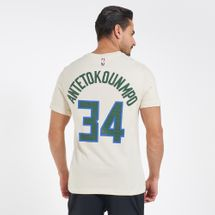 Nike Men's NBA Giannis Antetokounmpo Milwaukee Bucks City Edition Dri-FIT T-Shirt, 2087982