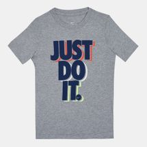 Nike Kids' Sportswear Just Do It Stacked Graphic T-Shirt (Older Kids)