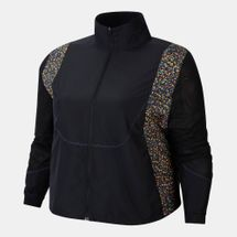 Nike Women's Icon Clash Running Jacket (Plus Size)