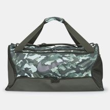Nike Brasilia 9.0 Allover Print Duffel Bag