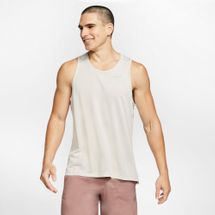 Nike Men's Miler Jacquard Running Tank Top