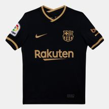 Nike Kids' F.C. Barcelona Stadium Away Jersey - 2020/21 (Older Kids)