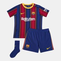 Nike Kids' F.C. Barcelona Stadium Home Football Kit - 2020/21 (Baby & Toddler)
