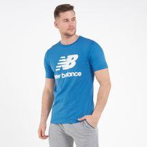 New Balance Men's Athletics Split Stack Logo T-Shirt