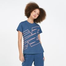 New Balance Women's Relentless Novelty Crew T-Shirt