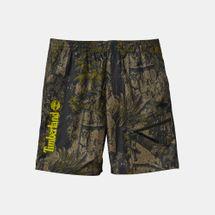 Timberland Men's Camo Allover Print Shorts