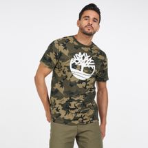 Timberland Men's Kennebec River Camo T-Shirt