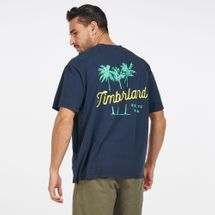 Timberland Men's Palm Tree Back T-Shirt