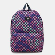 Vans Men's Old Skool Tie Dye Checkerboard Backpack