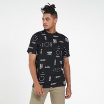 Vans Men's Distortion Allover Print T-Shirt