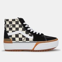 Vans Checkerboard Sk8-Hi Stacked Shoe