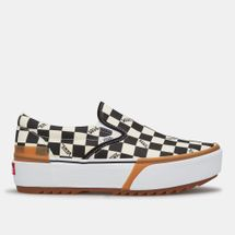 Vans Checkerboard Slip-On Stacked Shoe