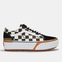 Vans Checkerboard Old Skool Stacked Shoe