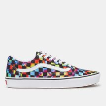 Vans Tie-Dye Checker ComfyCush Old Skool Shoe