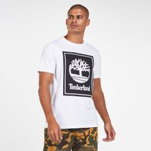 Timberland Men's Stack Logo T-Shirt