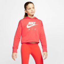 Nike Kids' Sportswear Air Cropped Hoodie (Older Kids)