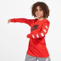 Nike Kids' Sportswear Long Sleeves T-Shirt (Older Kids)