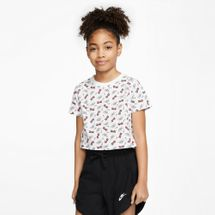 Nike Kids' Sportswear Sunglass Cropped T-Shirt (Older Kids)