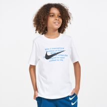 Nike Kids' Sportswear Swoosh For Life T-Shirt