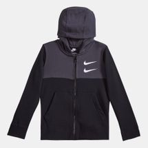 Nike Kids' Sportswear Swoosh Full-Zip Hoodie (Older Kids)