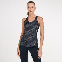 New Balance Women's Printed Accelerate Tank Top
