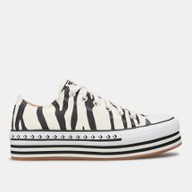 Converse Women's Sunblocked Platform Chuck Taylor All Star Shoe