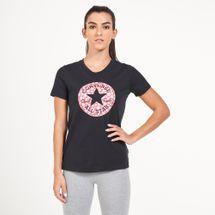 Converse Women's Chuck Patch Daisy Infill Classic T-Shirt