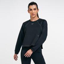 Nike Women's Pro Lux Fleece Crew Sweatshirt