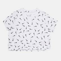 Nike Kids' Sportswear Cropped T-Shirt (Older Kids)