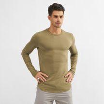 Squat Wolf Muscle Long-Sleeve T-Shirt