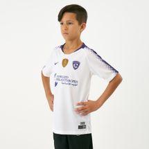 قميص الهلال السعودي الاحتياطي 2018-2019 من نايك للاطفال