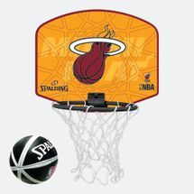Spalding Kids' NBA Miami Heat Micro Mini Backboard Set