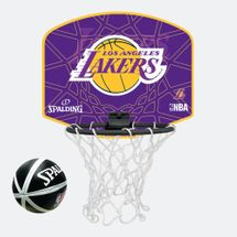 Spalding Kids' NBA Los Angeles Lakers Micro Mini Backboard Set Multi