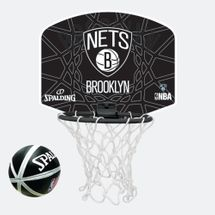 Spalding Kids' NBA Brooklyn Nets Micro Mini Backboard Set