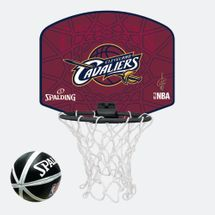 Spalding Kids' NBA Cleveland Cavaliers Micro Mini Backboard Set