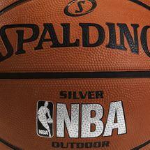 Spalding NBA Silver Size 5 Outdoor Basketball - Orange, 391149