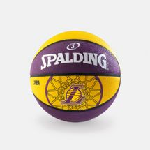 Spalding NBA Los Angeles Lakers Team Size 7 Outdoor Basketball - Multi, 391154