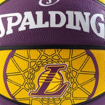 Spalding NBA Los Angeles Lakers Team Size 7 Outdoor Basketball - Multi, 391155