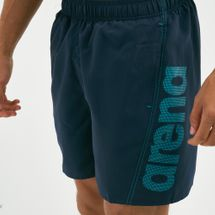 Arena Men's Fundamentals Logo Boxer Swim Shorts, 1733385