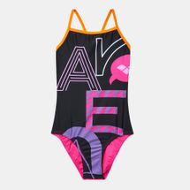 Arena Kids' Folk One Piece Swimsuit