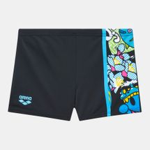 Arena Kids' Manga Panel Swimming Shorts