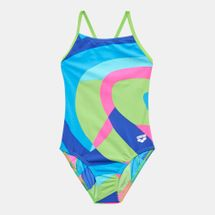 Arena Kids' Mural One Piece Swimsuit