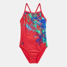 Arena Kids' Drip One Piece Swimming Suit
