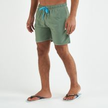 Arena Men's Solid Boxer Swim Shorts