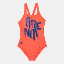 Arena Kids' Razzle Dazzle Swim Pro One Piece Swimsuit (Older Kids)